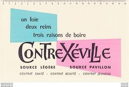 BUVARD Eau De Contrexéville - Buvards, Protège-cahiers Illustrés