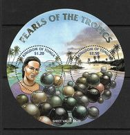 TONGA  2002 PERLES   YVERT N°B40 NEUF MNH** - Tonga (1970-...)