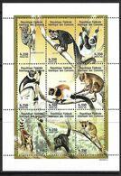 COMORES 1998 LEMURIENS   YVERT N°783/91  NEUF MNH** - Stamps
