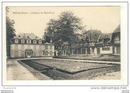 Carte De Essai Château De Beaufossé ( Peu Courante ) - France