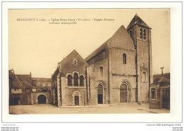 Carte De Beaugency L' église Notre Dame - Beaugency