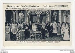 Théatre Des Bouffes Parisiens ( Paris ) Opérette De Xanrof Et Chancel Musique Ivan Caryli Toilettes Fourrures Paquin - France