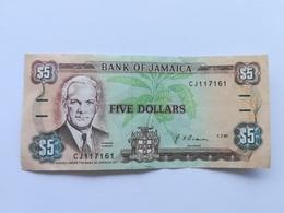 GIAMAICA 5 DOLLARS 1991 - Giamaica