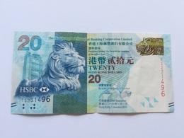 HONG KONG 20 DOLLARS 2016 - Hongkong
