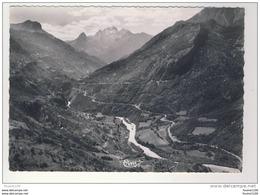 ( Format 10,5 Cm X 15 Cm ) Barcelonnette Vue Aérienne De La Vallée De L' Ubaye Les Petites Séolanes Montée Du Pellegrin - Barcelonnette