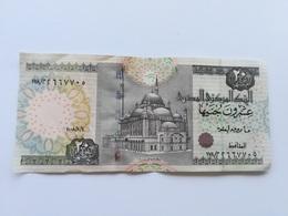EGITTO 20 POUNDS - Egipto