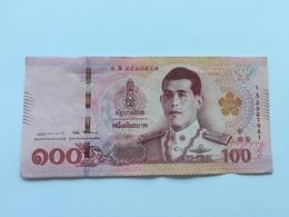 TAILANDIA 100 BATH - Thaïlande