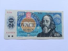 CECOSLOVACCHIA 20 KORUN - Czechoslovakia