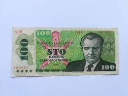 CECOSLOVACCHIA 100 KORUN 1989 - Czechoslovakia
