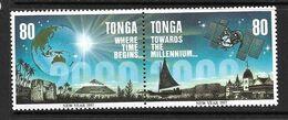 TONGA 1996 VERS L'AN 2000  YVERT N°1065/66  NEUF MNH** - Tonga (1970-...)