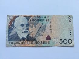 ALBANIA 500 LEKE 2007 - Albanië