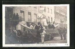 CPA Lyon, Mi-Careme 1911, Cavalcade Des Etudiants - Andere