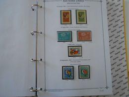 NATIONS-UNIES SIEGE DE NEW-YORK YT 84/90 Vente Par Page D'album (timbres Seuls)** - New York – UN Headquarters