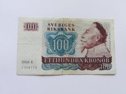 SVEZIA 100 KRONOR 1968 - Svezia