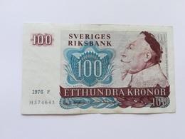 SVEZIA 100 KRONOR 1976 - Svezia