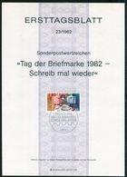 BRD - 1982 ETB 23/1982 - Mi 1154 - 80Pf                         Tag Der Briefmarke 82 - [7] República Federal