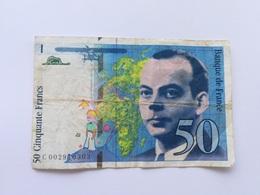 FRANCIA 50 FRANCS 1992 - 1992-2000 Ultima Gama