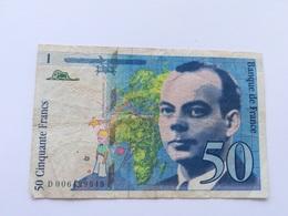 FRANCIA 50 FRANCS 1993 - 1992-2000 Laatste Reeks