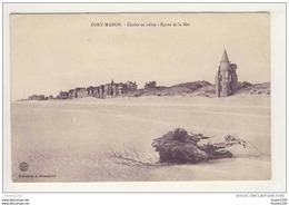 ## PEU COURANTE ## Carte De Fort Mahon Chalet En Ruine épave De La Mer ( Recto Verso ) - Fort Mahon