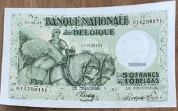 50 Francs Anto - Carte  20/01/1945 UNC!! Verzamelstuk!! Sontag - Frere! 0151 - 50 Francs-10 Belgas