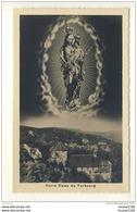 Carte De La Chapelle Du Vorbourg  Notre Dame Du Vorbourg ( Statue )( Environs De Delemont ) Format C.P.A ( Recto Verso ) - JU Jura