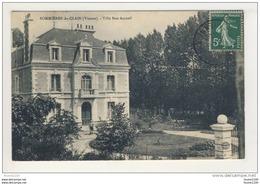# ACHAT IMMEDIAT # Carte De Sommières Du Clain  Villa Bon Accueil  ( Recto Verso ) - Altri Comuni