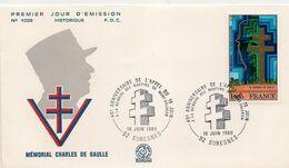 40ème ANNIVERSAIRE APPEL DU GENERAL DE GAULLE  * MEMOIRE MARTYRS MONT VALERIEN * N° 1941 - 1970-1979