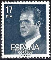 Spain 1984 - Mi 2659 - YT 2372 ( King Juan Carlos 1 ) Phosphorescent Paper - 1931-Aujourd'hui: II. République - ....Juan Carlos I