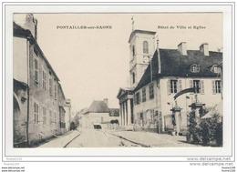 Carte De Pontailler Sur Saône  ( Recto Verso ) - Non Classificati