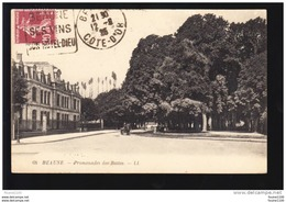 Beaune Promenade Des Battes ( Pour Info La N° 68 Existe En 2 Versions La Calèche N' Est Pas Au Même Endroit ) - Beaune