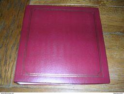 OCCASION..........LOT DE 3 ALBUMS De 50 Feuilles Pour 500 Cartes Modernes Ou Anciennes Chacun....differents Coloris - Matériel