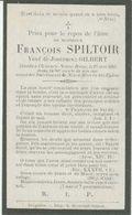 BP Spiltoir François (+Chaussée Notre Dame 1895) - Alte Papiere