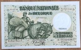 50 Francs Anto - Carte 03/01/1944 UNC!! Moeilijke Datum!! Verzamelstuk!! Sontag - Goffin!! 0412 - [ 2] 1831-... : Regno Del Belgio