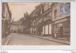 Carte De L' Aigle ( Laigle )  Rue Saint Jean   ( Recto Verso ) - L'Aigle
