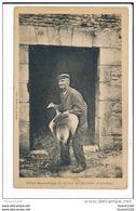 Carte Vieux Domestique De Ferme Du Bessin  ( Oie )( Environs De Bayeux Peut être ) ( Recto Verso ) - Non Classés