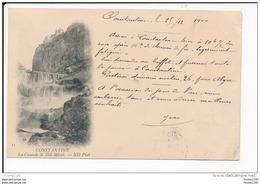Carte  De Constantine  La Cascade De Sidi Mécid  ( Recto Verso ) - Constantine