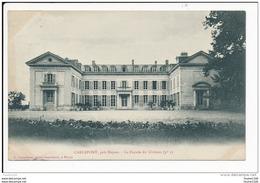 Carte  De Carlepont   Le Château ( Recto Verso ) - France