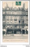 Carte De Paris  Le Siège Social  Des Prévoyants De L' Avenir  ( Devanture D' Assurance ) ( Recto Verso ) - Arrondissement: 04