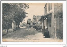 Carte D'  Auvers Sur Oise  Les Vallées La Rue D' Aubigny   ( Recto Verso ) - Auvers Sur Oise