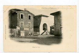 CPA: 01- CHATILLON-SUR-CHALARONNE - RUE DE L'HOTEL DE VILLE - - Châtillon-sur-Chalaronne