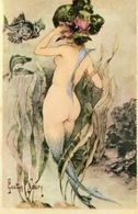 Gaston NOURY - Sirène Aux Seins Nus - REPRO - Vintage Women (1921-1940)