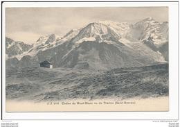 Carte  De  Saint  Gervais Les Bains  Chaîne Du Mont Blanc  Vu Du Prarion  ( Recto Verso ) - Saint-Gervais-les-Bains
