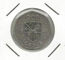 Ghana 200 Cedis 1998. - Ghana