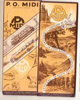 Couvre-livre PO MIDI  Complet Avec Sa Cellophane Et Ses 2 Marque-pages (PPP23577) - Bladwijzers