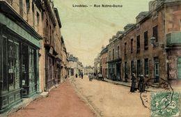 22-LOUDEAC- RUE NOTRE-DAME - Loudéac