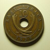 East Africa 10 Cents 1939 - British Colony