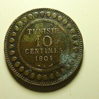 Tunisia 10 Centimes 1904 - Tunisia