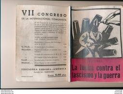 Ercoli La Lucha Contra El Fascismo Y La Guerra  ( Fascisme ) VII  Congreso De La Internacional Comunista - Cultura