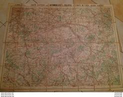 Carte  TARIDE Routière N° 7  Environs De Paris Sud Est     ( Sur Toile / Ou Carte Toilée ) - Carte Stradali