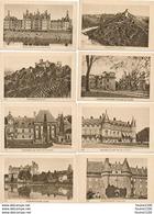 LOT / SERIE De 24 Images Châteaux Château De France SIROP MORRHUA Ets THOMAS GUINAMAND à TERRENOIRE   ( Recto Verso ) - Chromos